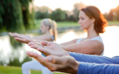 Bewegung verbessert die Reinigung, hält fit und bei Laune