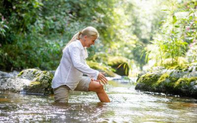 Von der Bürstenmassage bis zum Wassertreten – sich Gutes tun