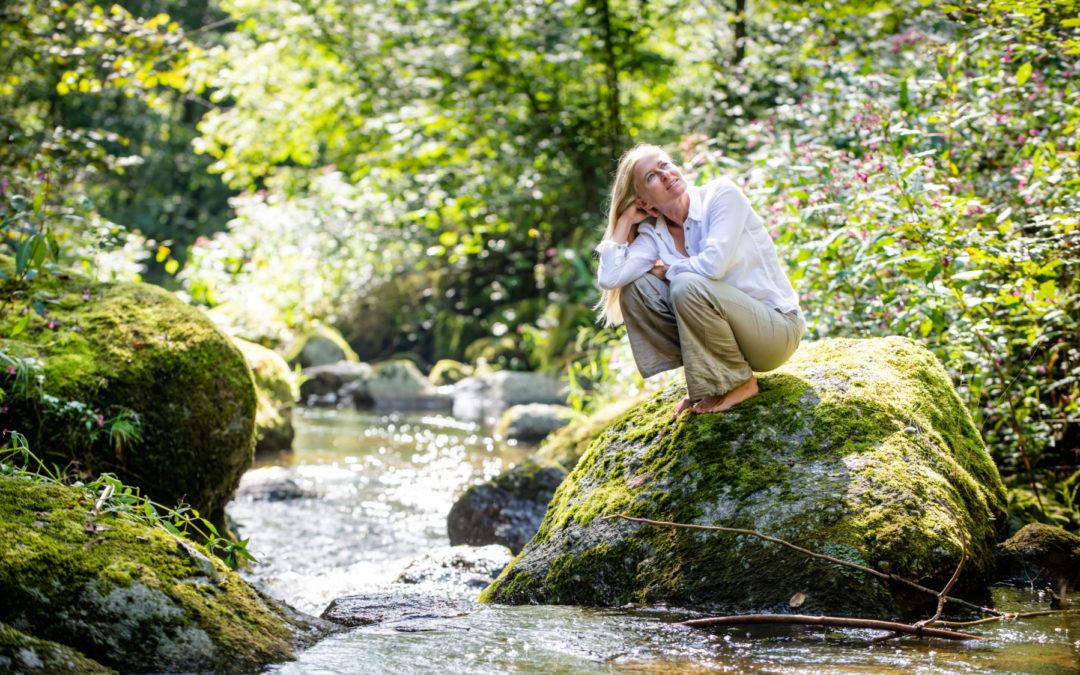 In die Ruhe kommen und Achtsamkeit leben